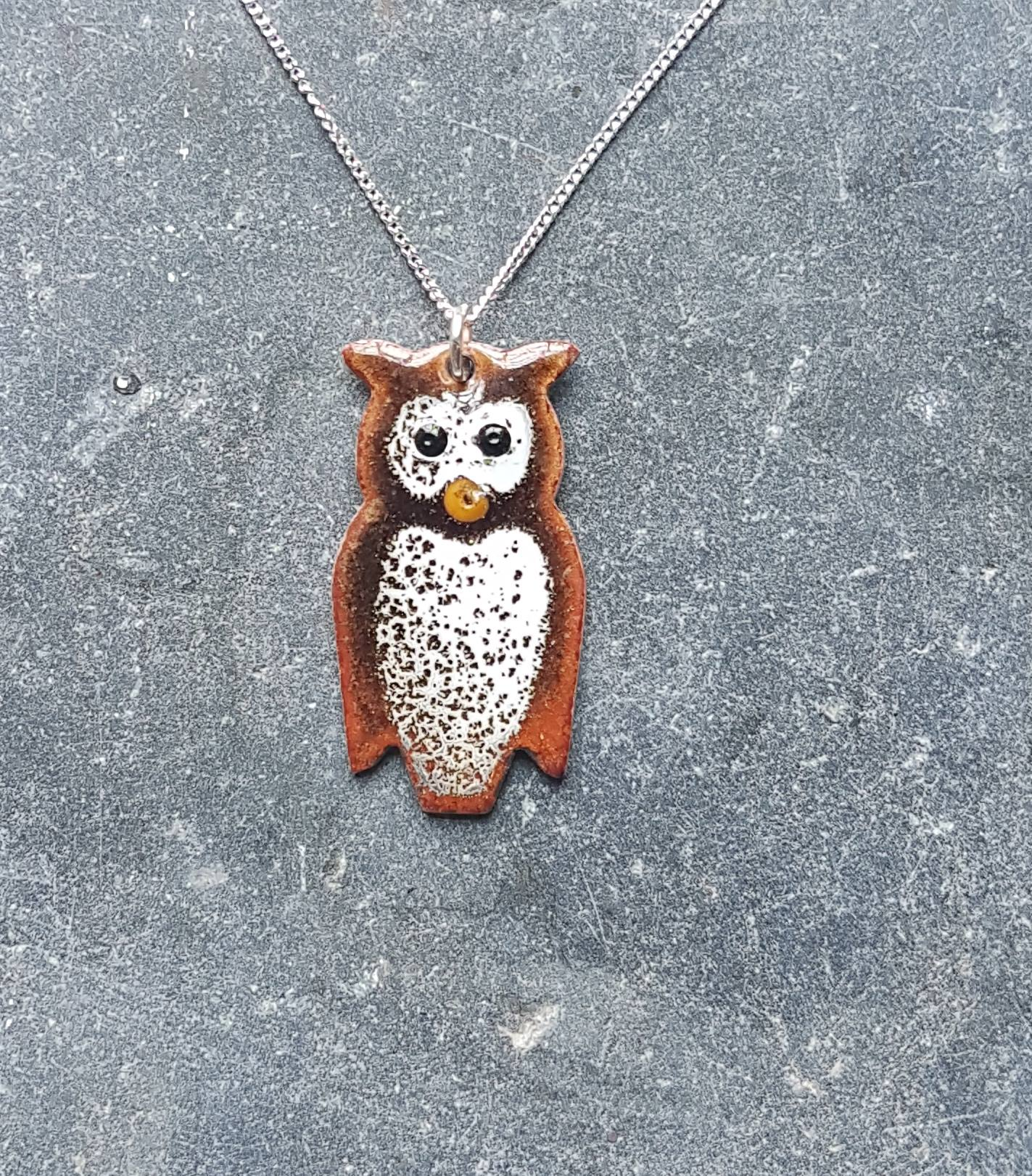 necklace lovely owl vintage products lover pendant style regulustlk silver