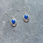 Celtic Lapis Lazuly Earrings