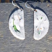 Winter Shamrock Earrings