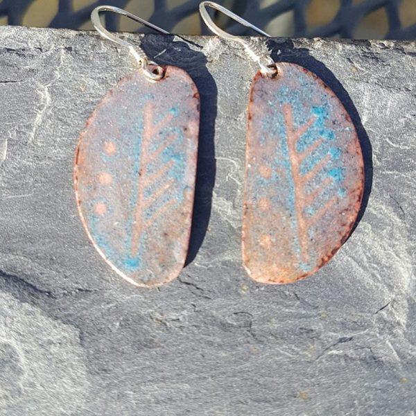 Ogham Astrology Earrings