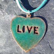 Turquoise Loveheart