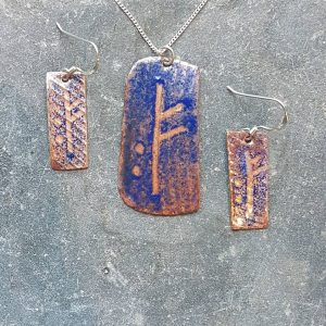 December Ogham Set-transparent