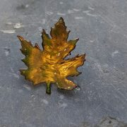 Evergreen Leaf Brooch