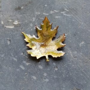 Autumn Leaf Broach