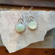 Celtic Knot New Jade Earrings