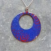 Loop Pendant-Royal Blue