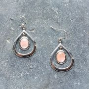 Celtic Loop Mother of Pearl Earrings