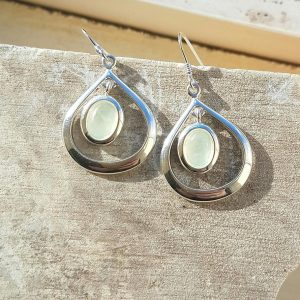 Celtic Loop New Jade Earrings