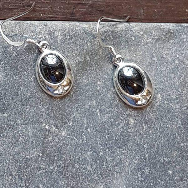 Celtic Hematine Earrings