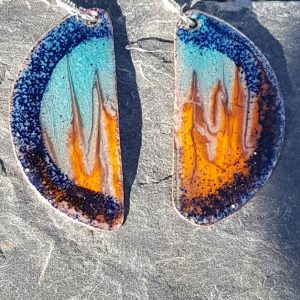 Couldron of Fire Earrings
