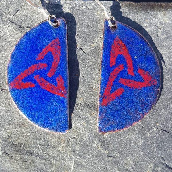 Royal Blue Trinity Red