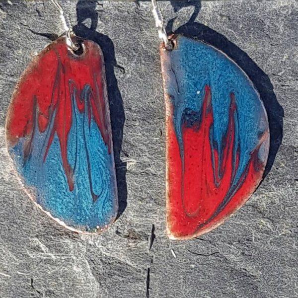 Stalagmite Stalactite- Red&Blue