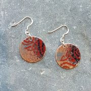 Celtic Duo Earrings-Dark & Light