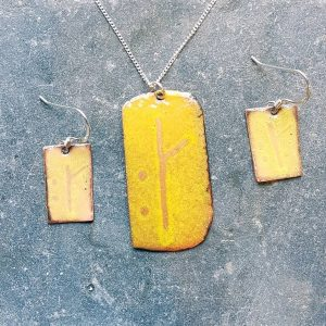 November Ogham Set-transparent