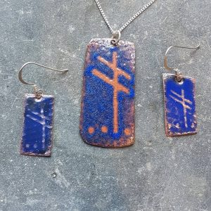 September Ogham Set-transparent