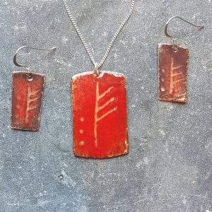 January Ogham Set-transparent