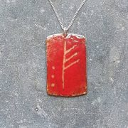 January Ogham pendant-transparent